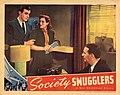 Socienty Smugglers - Fred Keating, Irene Hervey, Clay Clement, Jr 1939.jpg
