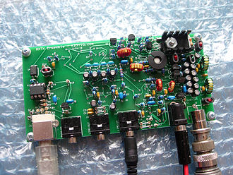 Radio receiver design - SoftRock RXTX Ensemble SDR Transceiver is a software-defined radio frontend that need a PC with software to demodulate and modulate the I-Q signals.