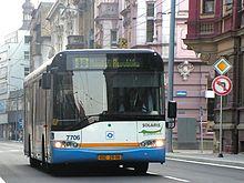 Autobus di Ostrava