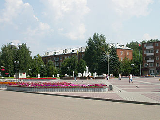Solnechnogorsk - Sovetskaya Square in Solnechnogorsk