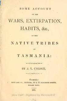 Some account of the wars, extirpation, habits.djvu