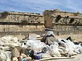 Some of the several rubbish clam on Manoel Island.jpg
