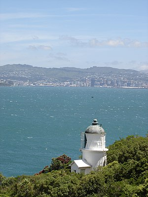 Matiu / Somes Island - Image: Somes Island Lighthouse
