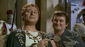 Ciccio Barbi - Alberto Sordi and Ciccio Barbi in Nero's Weekend (1956)