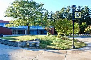 Souhegan High School - Image: Souhegan Rear Entryway