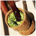 Soupou Kandja preparing okra mash.jpg