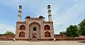 South Gateway - Southern View - Akbar Mausoleum Complex - Sikandra - Agra 2014-05-14 3602-3605 Archive.TIF