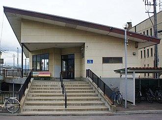 Kiyokawaguchi Station - Image: South Hokkaido Railway Line Kiyokawaguchi Station building
