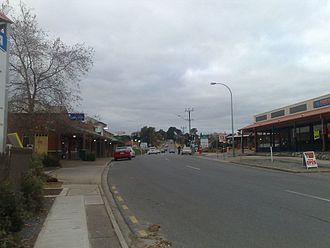 Old Reynella, South Australia - Old South Road, Old Reynella, facing north