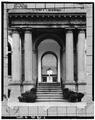South front, entrance - Boston City Hall, 41-45 School Street, Boston, Suffolk County, MA HABS MASS,13-BOST,70-2.tif