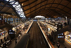 Southern Cross railway station Melbourne