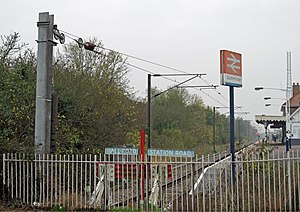 Southminster railway station - The terminus in 2011