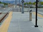 Southwest at S 4800 W level crossing, Apr 15.jpg