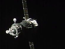 Soyuz TMA-08M approaches the ISS