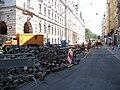 Spálená, rekonstrukce, u Lazarské.jpg