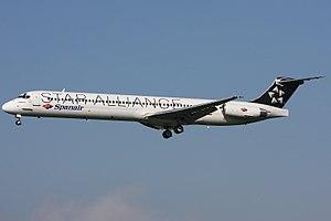 Spanair Flight 5022 - Image: Spanair Mc Donnell Douglas MD 82 (DC 9 82)