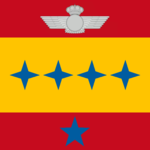 Spanish Chief of Staff of the Air Force flag.png