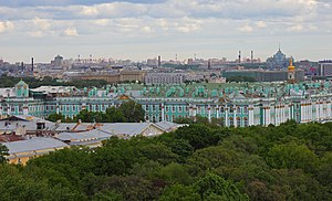 Spb 06-2012 Winter Palace from Isaac Cathedral.jpg, автор: A.Savin