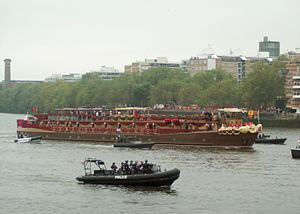 MV Spirit of Chartwell - Decorated for the Thames Diamond Jubilee Pageant