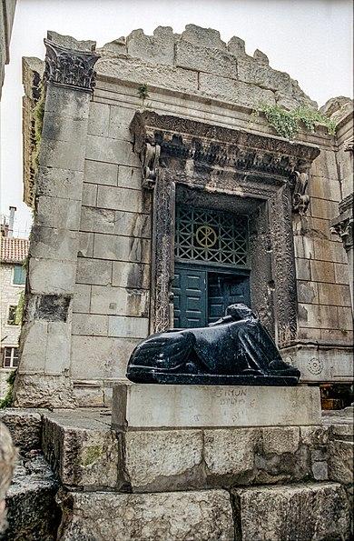 Esfinx del palau de Dioclecià. Wikimedia