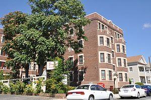 Evans Court Apartment Building - Image: Springfield MA Evans Apartments