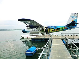 SriLankan Airlines - DHC-6 Twin Otter floatplane used as part of SriLankan's Air-Taxi service