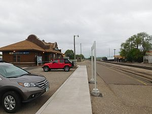 St. Cloud station - St. Cloud station in May 2017.