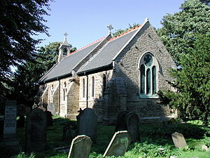 Marfleet - St Giles church, 1883-4 (2006)