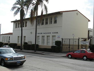 Wilshire Park, Los Angeles - St. Gregory Nazianzen Catholic School, Wilshire Park