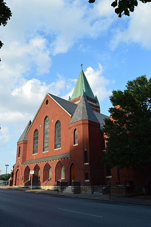 St. Mary's Episcopal Church (Kansas City, Missouri) - Image: St. Mary's Episcopal Church Kansas City