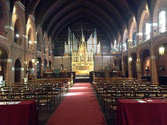 St. Mary's Episcopal Church (Kansas City, Missouri) - The nave of St. St. Mary's Episcopal Church