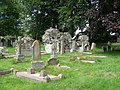 St. Michael's church Ilsington - churchyard - geograph.org.uk - 1417614.jpg