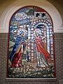 St. Michael the Archangel, Findlay, OH - The Visitation, mosaic, narthex.jpg