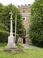 St. Nicholas church and War Memorial at Elmdon - geograph.org.uk - 1420254.jpg