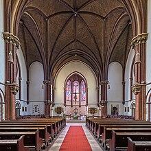 A berlini St. Sebastian-templom belseje