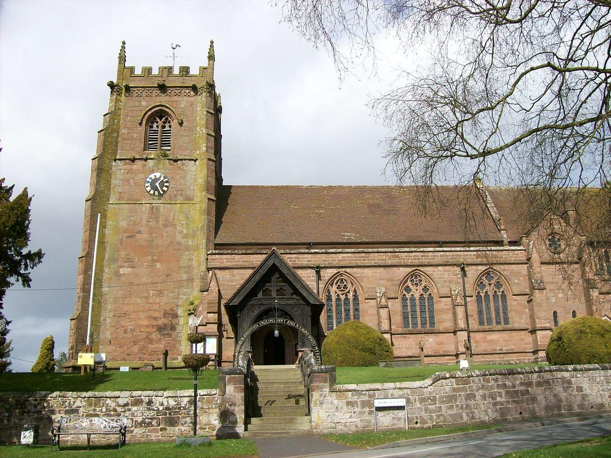 St. Swithun church, Cheswardine.jpg