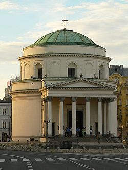 St Alexander church in Warsaw.JPG