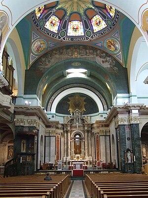 St Aloysius Church, Glasgow - Image: St Aloysius Church interior, Glasgow by Thomas Nugent Geograph 2949014
