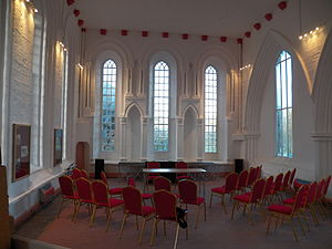 St Bees Theological College - The Interior of the monastic chancel, which was the first lecture room