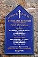 St Helens Church board, Cockburnspath - geograph.org.uk - 1764367.jpg