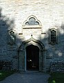 St John the Evangelist, Shobdon, Heref - West doorway - geograph.org.uk - 346032.jpg