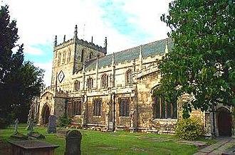 Snaith - Image: St Laurence Church Snaith