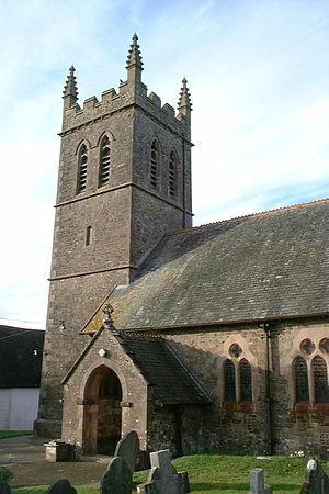 Sheepwash, Devon - Sheepwash parish church