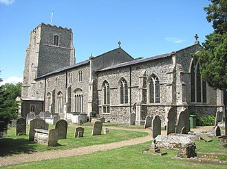 Kenninghall - Image: St Mary's church geograph.org.uk 1400249