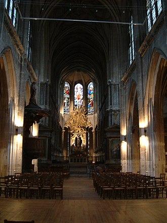 Church of Saint-Merri - Image: St Merri interior