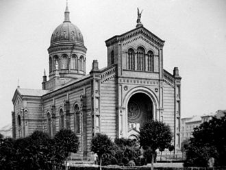 August Soller - St. Michael's Church, Berlin in 1880
