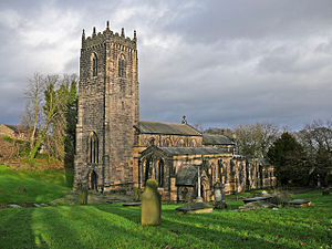 Thornhill, West Yorkshire - St. Michael and All Angels, Thornhill Parish Church