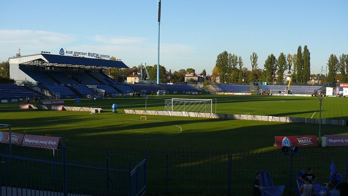 Stadion Ruchu Chorzów Wikipedia Wolna Encyklopedia