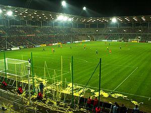 2013–14 Ekstraklasa - Image: Stadion MO Si R Kielce Staszek 20060401