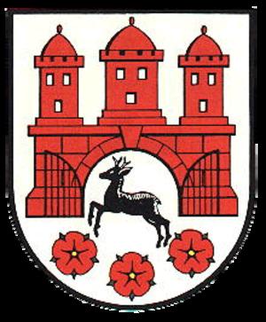 Rehburg-Loccum - Image: Stadtwappen der Stadt Rehburg Loccum